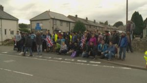 Members of the group travelled to Kendal from all around the UK. Credit: ITV Border